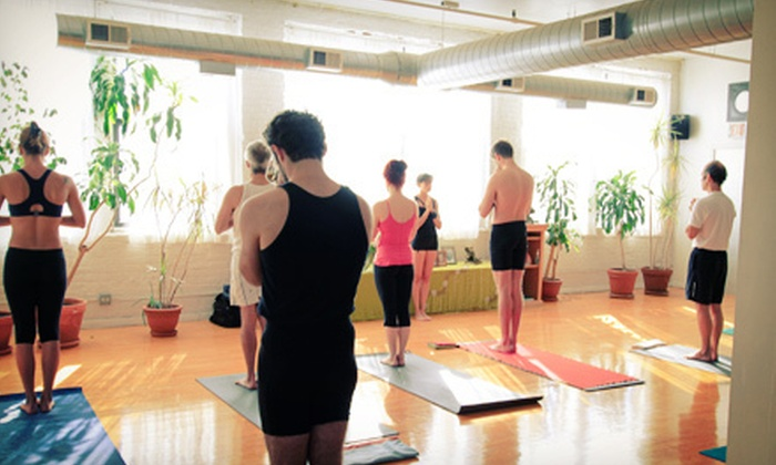 Moksha Yoga Center Chicago - Multiple Locations: 5 or 10 Classes at Moksha Yoga Center (Up to 65% Off)