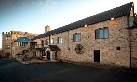 Northumberland: 1 or 2 Nights for Two with Breakfast, Dinner and Leisure Access at Best Western Derwent Manor