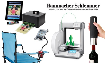 $25 for $50 or $50 for $100 Worth of Gadgets at Hammacher Schlemmer