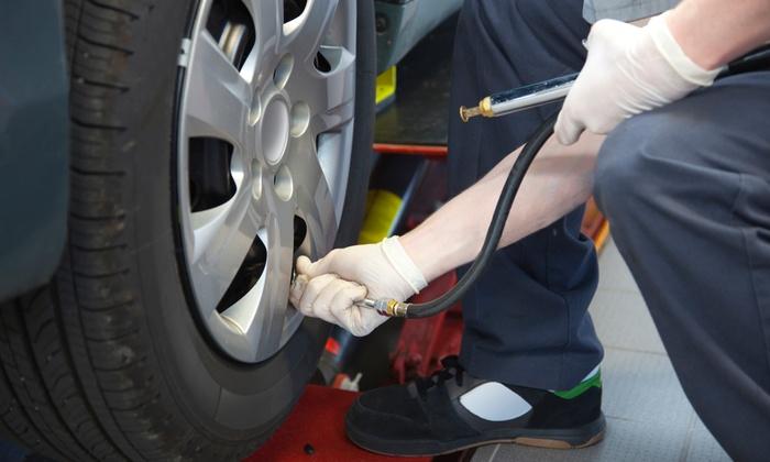Fine Tuned Auto - Broomfield: $129 for a Tire Rotation with 27-Point Diagnostic Check at Fine Tuned Auto ($200 Value)
