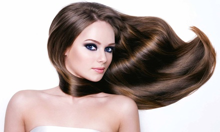 Cut, Color, and Styling Packages at Something New Hair Design (Up to 62% Off). Four Options Available.