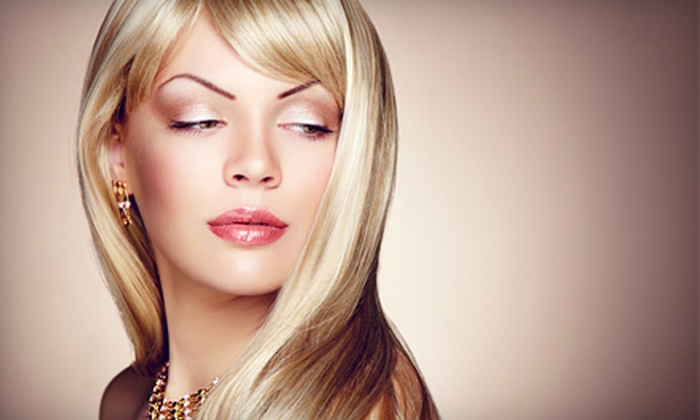 Beauty Bar Lounge - Larchmont: One or Three Blowouts at Beauty Bar Lounge (Up to 54% Off)
