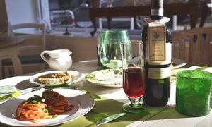 Acquacotta: Menu biologico e vegetariano con calice di vino per 2 o 4 persone da Acquacotta (sconto fino a 64%)