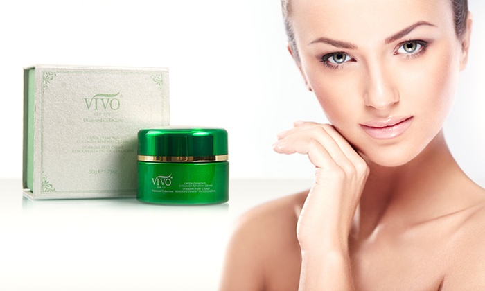 Vivo Per Lei Green Diamond Collagen-Renewal Cream: Vivo Per Lei Green Diamond Collagen-Renewal Facial Cream