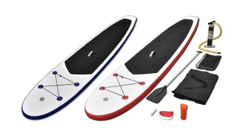 Tabla de paddle surf inflable con remo de aluminio