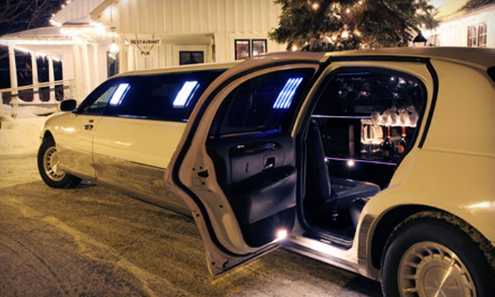 Bella Viaggio Limousine - Champlin: One-Way Airport Car Service or Holiday-Lights Limo Ride from Bella Viaggio Limousine (Up to 53% Off)