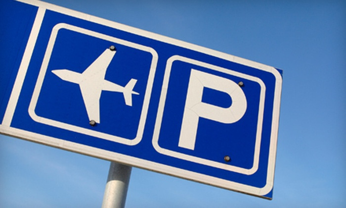 Laz Fly Airport Parking - Windsor Locks: Airport Self-Parking or Valet Parking, or Full Auto Detail at Laz Fly Airport Parking in Windsor Locks (Up to 52% Off)