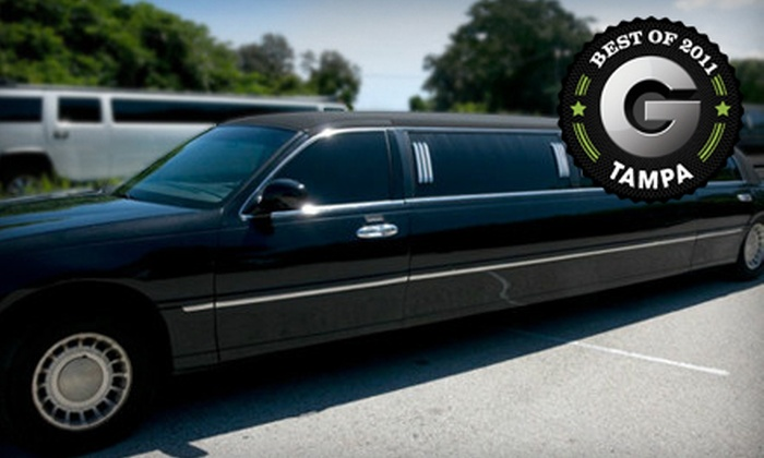 Diplomat Airport Transportation, Inc. - Gillespie Park: Three- or Four-Hour Limo Ride with Champagne for Up to 10 from Diplomat Airport Transportation, Inc. (Up to 60% Off)