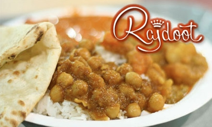 Rajdoot - Mission: $20 for $40 Worth of Indian Fare and Drinks at Rajdoot
