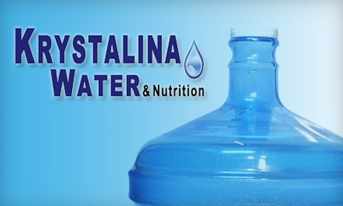 Krystalina Water - Northeast San Antonio: $20 for a Five-Gallon Water Jug and 14 Refills (20 Refills If You Already Have a Jug) from Krystalina Water (Up to a $41 Value)