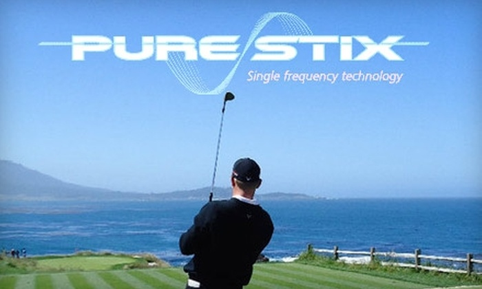 Pure Stix - Corkscrew: $75 for a Pure Stix Custom-Club Fitting at Dr. Jim Suttie Golf Academy