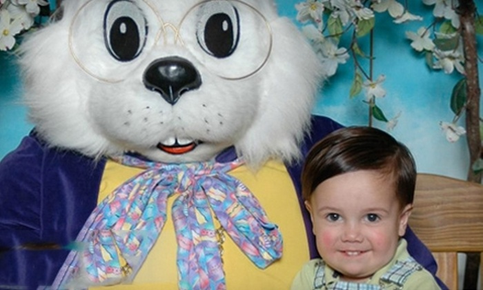 WorldWide Photography - The Great Mall: $18 for Pictures with the Easter Bunny, Including Prints, at WorldWide Photography in Olathe ($35.99 Value)
