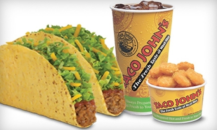 Taco John's - Waukesha: $4 for $8 Worth of West-Mex Cuisine at Taco John's in Waukesha