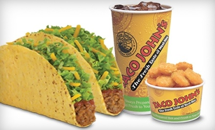 $8 Groupon to Taco John's - Taco John's in Waukesha
