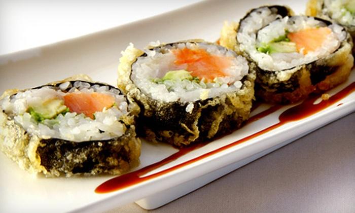Yoki Japanese Restaurant & Sushi Bar - Medford: Sushi and Japanese Fare on Sunday through Thursday at Yoki Japanese Restaurant & Sushi Bar (Up to 56% Off). Two Options Available.