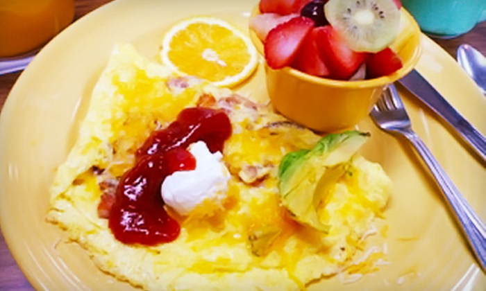 The Good Day Cafe - Huntington Beach: $12 for Brunch for Two at The Good Day Cafe in Huntington Beach (Up to $27.90 Value)