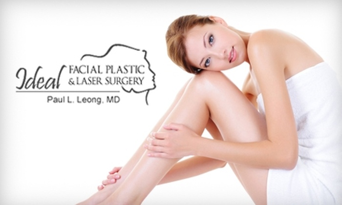Ideal Facial Plastic & Laser Surgery - Multiple Locations: Cosmetic Services at Ideal Facial Plastic & Laser Surgery. Choose from Five Options.