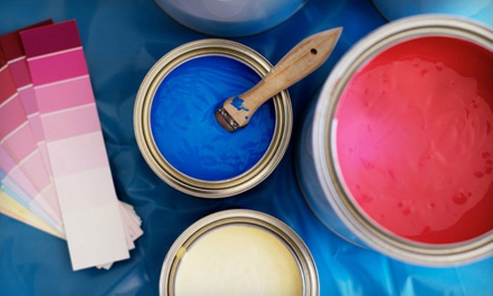 Ground Up Services - Anchorage: Interior Painting for One or Three Rooms from Ground Up Services (Up to 75% Off)