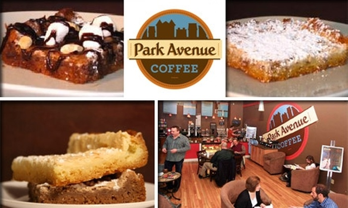 """Park Avenue Coffee - St Louis: $10 for a 9"""" x 13"""" Gooey Butter Cake from Park Avenue Coffee"""