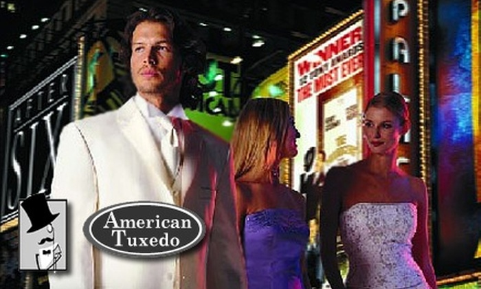 American Tuxedo & Bridal - Nashville-Davidson metropolitan government (balance): $35 for $70 Worth of Men's Rental Apparel at American Tuxedo & Bridal
