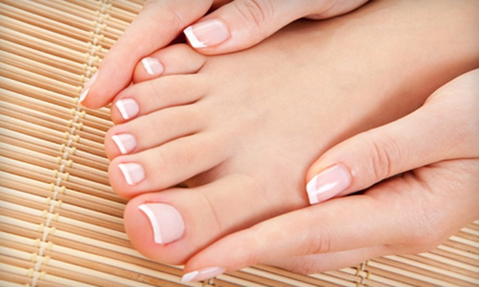 Spalon - Dupont Circle: Mani-Pedi or a Shellac Manicure and a Paraffin-Wax Treatment at Spalon (Up to 55% Off)