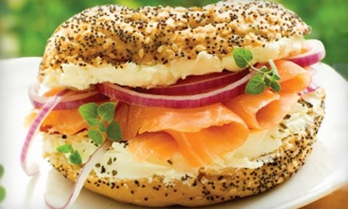 The Bagel Meister - Douglasville: $5 for $10 Worth of Bagels and Café Fare at The Bagel Meister in Douglasville