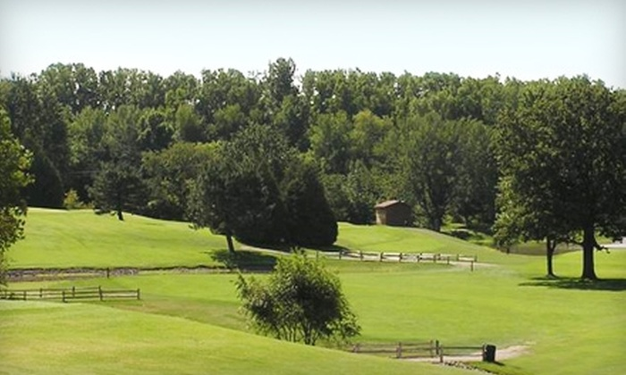 Village Green Golf Course - Howard: $20 for a Nine-Hole Golf Outing for Two, Including Golf Cart, at Village Green Golf Course (Up to $46 Value)