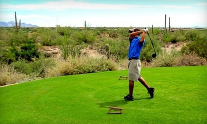 The Practice Tee Golf Academy - Orange Grove Industrial Park: $55 for Three Private Golf Lessons with Bobby Saavedra at The Practice Tee Golf Academy (Up to $180 Value)