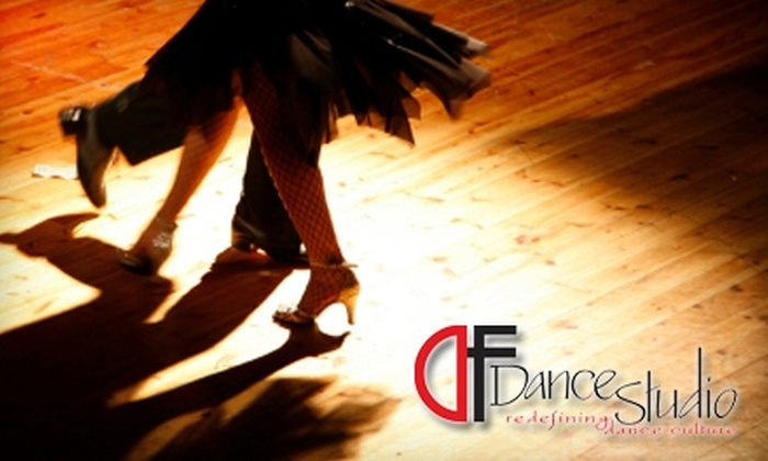DF Dance Studio - South Salt Lake City: $14 for Two Drop-In Classes at DF Dance Studio (Up to $30 Value)