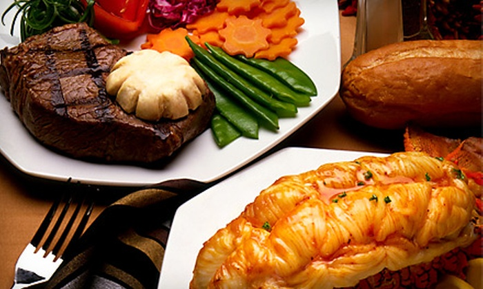 Palmers Restaurant & Tavern - Boston: Three-Course Steak and Seafood Dinner for Two, Four, or Six at Palmers Restaurant & Tavern in Andover