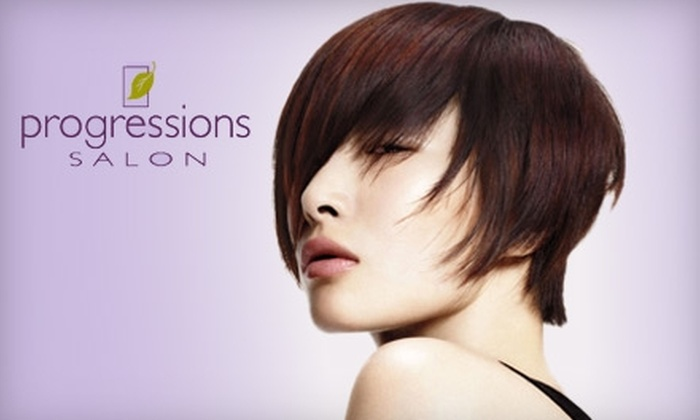 Progressions Salon - East Bloomington: $25 for $50 Worth of Services at Progressions Salon in the Mall of America