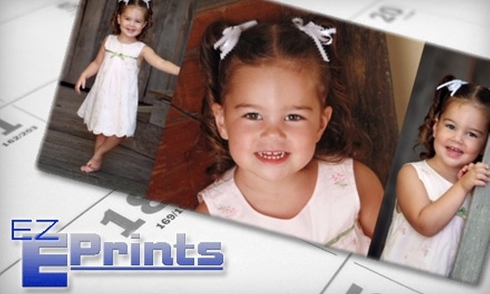 EZ E-Prints: $25 for $50 Toward Personalized Calendars and More Online from EZ E-Prints