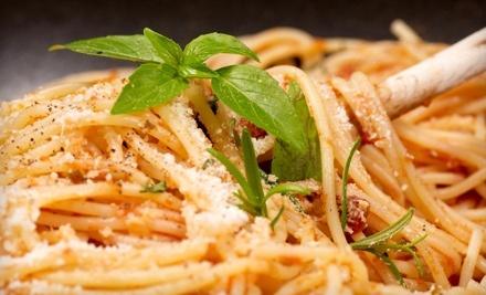 $20 Groupon to Bella Villa Italian Restaurant - Bella Villa Italian Restaurant in Fayetteville