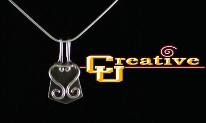 Creative U - Carefree: $25 For Jewelry Design Class and Materials at Creative U in Cave Creek