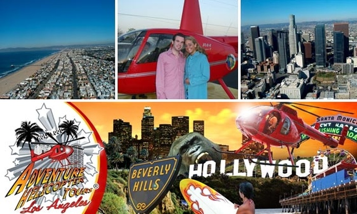 Adventure Helicopter Tours - Los Angeles: See Hollywood and Universal Studios from the Air on an Adventure Helicopter Tour