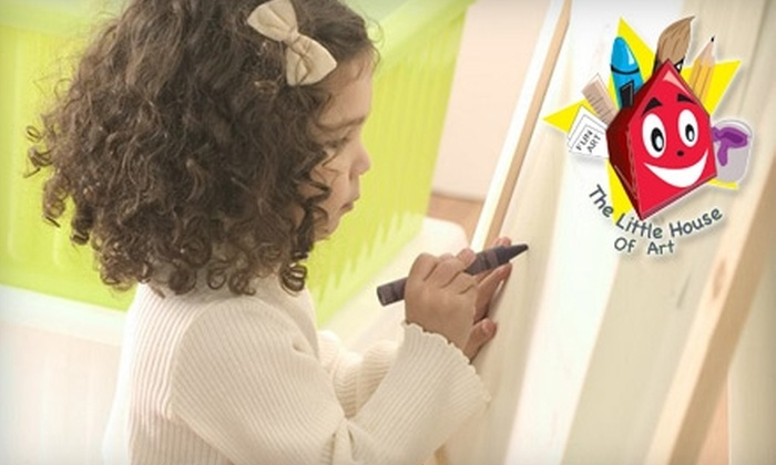 The Little House of Art - Chamblee-Doraville: $10 for a Two-Hour Freestyle Art Session for Kids at The Little House of Art ($20 Value)