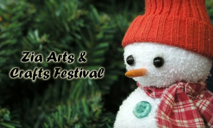 "Zia Arts & Crafts Festival - Fairgrounds Addition: $10 for Two Weekend Passes to the ""Christmas in New Mexico"" Show at Zia Arts & Crafts Festival, Nov. 19–21"