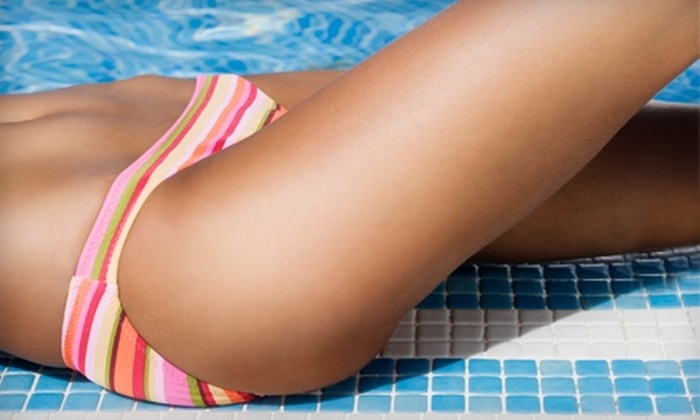 Aura Skin Spa - Financial District: $150 for Three Laser Hair-Removal Treatments at Aura Skin Spa (Up to $600 Value)