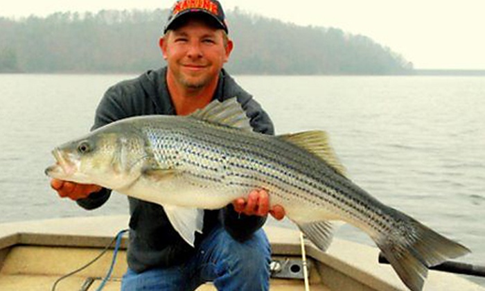 Extreme Stripers Guide Service - Acworth: $149 for a Half-Day Fishing Trip for Two from Extreme Stripers Guide Service ($300 Value)