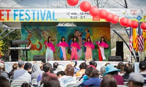 Vietnamese TET Festival of San Jose: Visit for Two, Four, Six, or Eight to Vietnamese Tet Festival of San Jose on February 21 (Up to 52% Off)
