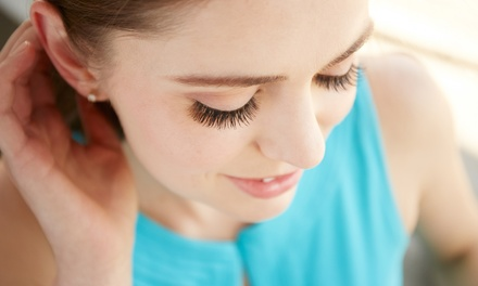 Full Set of Mink Eyelash Extensions with Optional Two Week Fill at Spotlight Salon (Up to 75% Off)