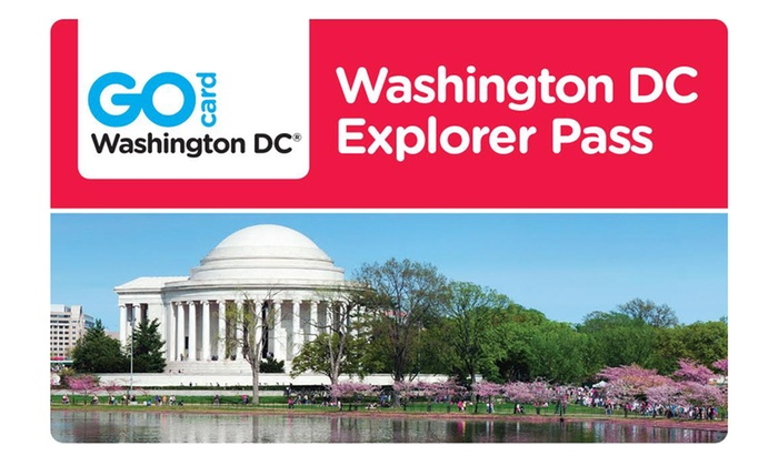 Go City Card: Washington DC Explorer Pass includes admission to 3 or 5 attractions from 9 options. Pay Nothing at The Gate.