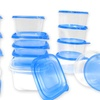 Stackable Plastic Food Storage Set (30-Piece)