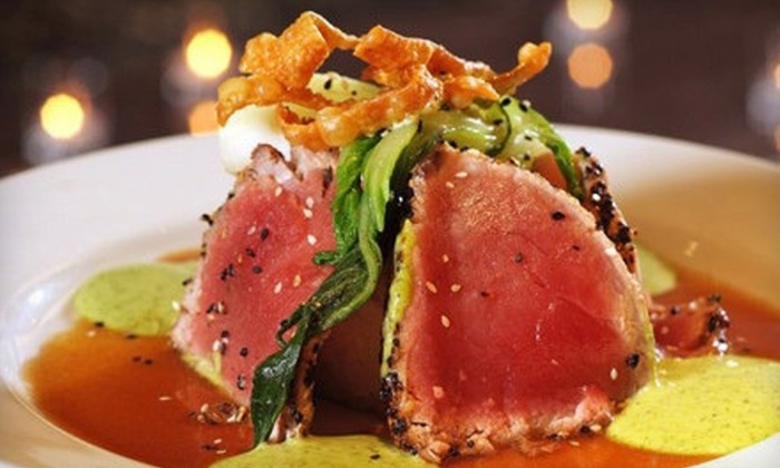 Rickey's Restaurant & Bar - Novato: Contemporary American Cuisine for Two or Four at Rickey's Restaurant & Bar (Up to 44% Off)