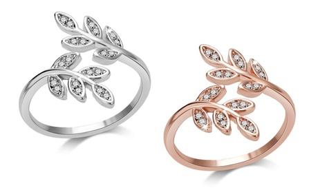 One or Two Philip Jones Leaf Rings