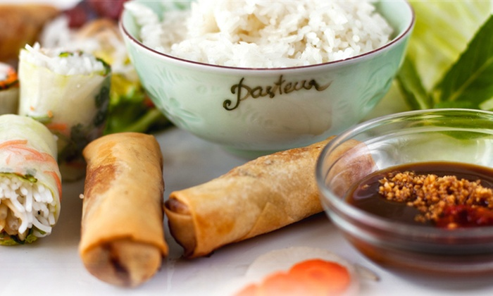 Pasteur - Edgewater: Four-Course Vietnamese Meal or Weekend Tea Menu for Two at Pasteur (Up to 40% Off)