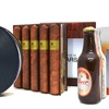 Ruckus Books Music, Beer, and Cigar Books with Stylized Covers
