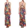 Trina Turk Women's Floral Print Maxi Dress
