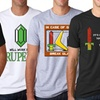 Men's Gamer-Humor Cotton T-Shirts