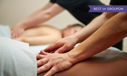 60 or 90Minute DeepTissue Massage or 60Minute Couples Massage at Amar Massage Spa (Up to 42% Off)